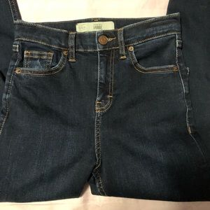 Topshop Jamie Ripped High Waisted Skinny Jeans